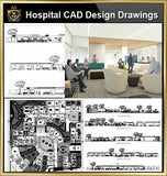 ★【Hospital design,Treatment room CAD Design Drawings V.1】@Medical equipment, ward equipment-Autocad Blocks,Drawings,CAD Details,Elevation - CAD Design | Download CAD Drawings | AutoCAD Blocks | AutoCAD Symbols | CAD Drawings | Architecture Details│Landscape Details | See more about AutoCAD, Cad Drawing and Architecture Details
