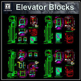 Free Elevator Details - CAD Design | Download CAD Drawings | AutoCAD Blocks | AutoCAD Symbols | CAD Drawings | Architecture Details│Landscape Details | See more about AutoCAD, Cad Drawing and Architecture Details