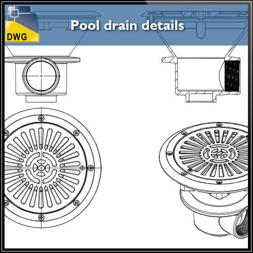 Toilet and Bathroom – CAD Design | Free CAD Blocks,Drawings,Details