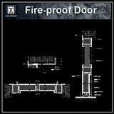 Free Fire Proof Door Details