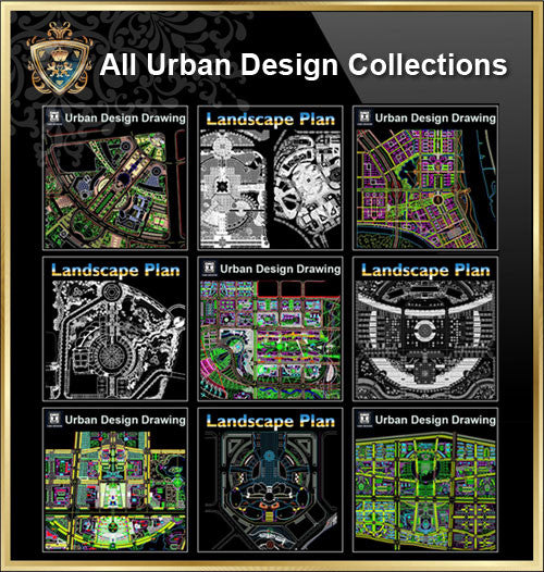 【All Urban Design CAD Drawings Collections】(Best Recommanded!!) - CAD Design | Download CAD Drawings | AutoCAD Blocks | AutoCAD Symbols | CAD Drawings | Architecture Details│Landscape Details | See more about AutoCAD, Cad Drawing and Architecture Details