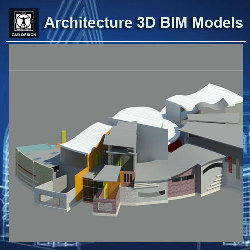 Kindergarten Design- BIM 3D Models