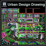 Urban City Design 3 - CAD Design | Download CAD Drawings | AutoCAD Blocks | AutoCAD Symbols | CAD Drawings | Architecture Details│Landscape Details | See more about AutoCAD, Cad Drawing and Architecture Details