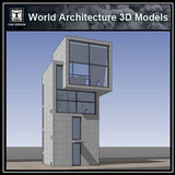 Sketchup 3D Architecture models- 4X4 House(Tadao Ando ) - CAD Design | Download CAD Drawings | AutoCAD Blocks | AutoCAD Symbols | CAD Drawings | Architecture Details│Landscape Details | See more about AutoCAD, Cad Drawing and Architecture Details