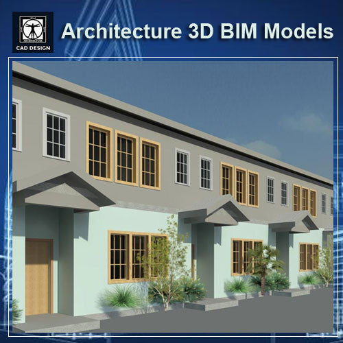 Apartment Design- BIM 3D Models