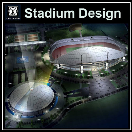 Stadium Cad Drawings