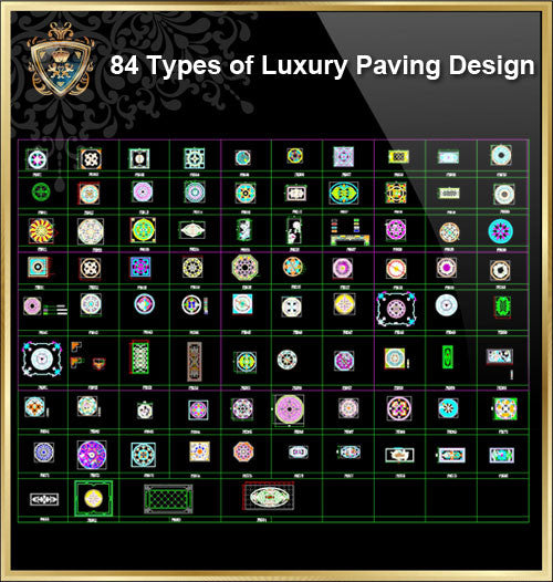 84 Types of Luxury Paving Design - CAD Design | Download CAD Drawings | AutoCAD Blocks | AutoCAD Symbols | CAD Drawings | Architecture Details│Landscape Details | See more about AutoCAD, Cad Drawing and Architecture Details