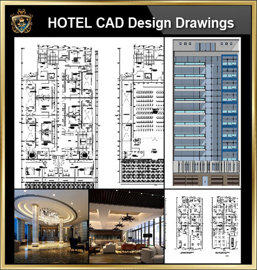 ★【Hotel, hotel lobby, Room design,Public facilities,Counter CAD Design Project V.1】@Autocad Blocks,Drawings,CAD Details,Elevation