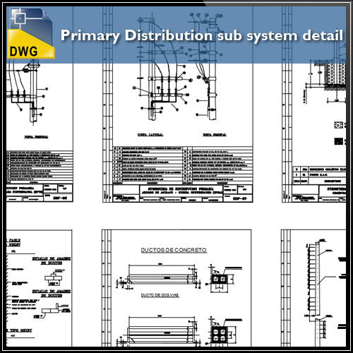 Primary Distribution sub system detail
