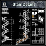 Free RC Stair Details - CAD Design | Download CAD Drawings | AutoCAD Blocks | AutoCAD Symbols | CAD Drawings | Architecture Details│Landscape Details | See more about AutoCAD, Cad Drawing and Architecture Details