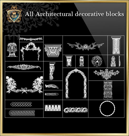All Architectural decorative blocks V.8