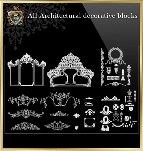 All Architectural decorative blocks V.7