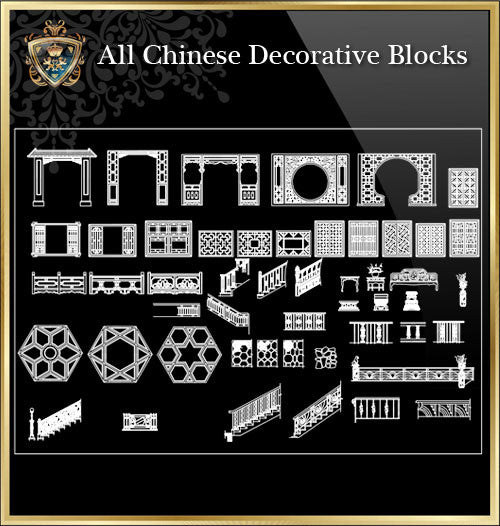 All Chinese Decoration Elements(Best Recommanded!!)