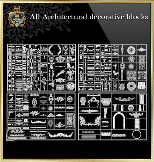 All Architectural decorative blocks V.2