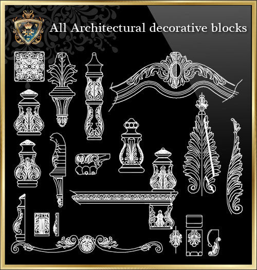 All Architectural decorative blocks V.4