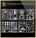 All Architectural decorative blocks V.1