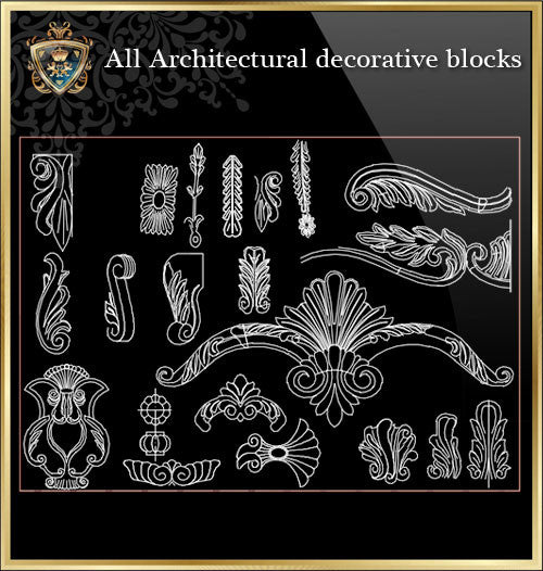 All Architectural decorative blocks V.9