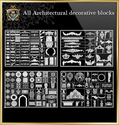 ★All Interior Design Blocks