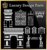 Royal Architecture Design Block 4 - CAD Design | Download CAD Drawings | AutoCAD Blocks | AutoCAD Symbols | CAD Drawings | Architecture Details│Landscape Details | See more about AutoCAD, Cad Drawing and Architecture Details