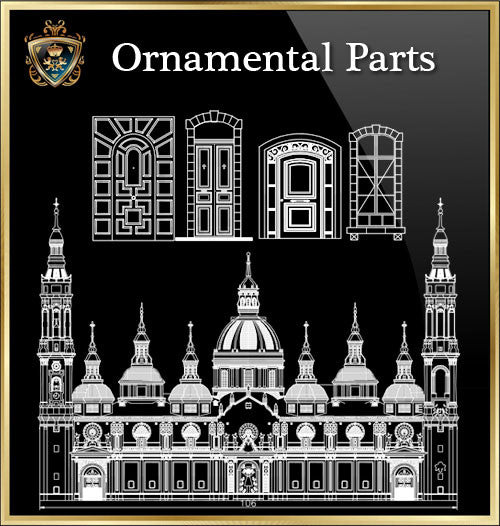★Architecture Ornamental Parts V.3★