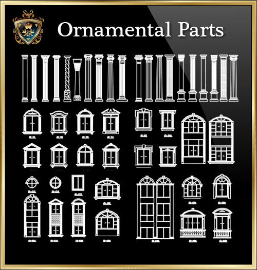 ★Architecture Ornamental Parts V.7★