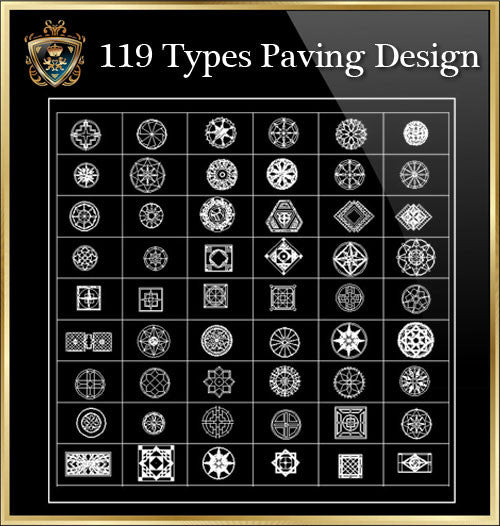 ★Luxury Interior Design- 119 Types Paving Design★Best Recommanded!!