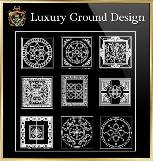 ★Luxury Interior Design- Luxury Ground Design★Best Recommanded!! - CAD Design | Download CAD Drawings | AutoCAD Blocks | AutoCAD Symbols | CAD Drawings | Architecture Details│Landscape Details | See more about AutoCAD, Cad Drawing and Architecture Details