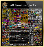 Furniture CAD Blocks Collection