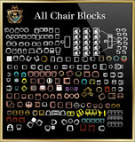 Chair CAD Blocks Collection - CAD Design | Download CAD Drawings | AutoCAD Blocks | AutoCAD Symbols | CAD Drawings | Architecture Details│Landscape Details | See more about AutoCAD, Cad Drawing and Architecture Details