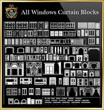 Windows Curtain CAD Blocks Collection - CAD Design | Download CAD Drawings | AutoCAD Blocks | AutoCAD Symbols | CAD Drawings | Architecture Details│Landscape Details | See more about AutoCAD, Cad Drawing and Architecture Details