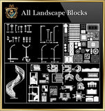 Landscape Blocks CAD Blocks Collection