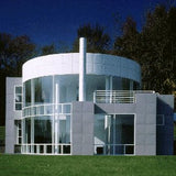 Villa inspired from Richard Meier's house