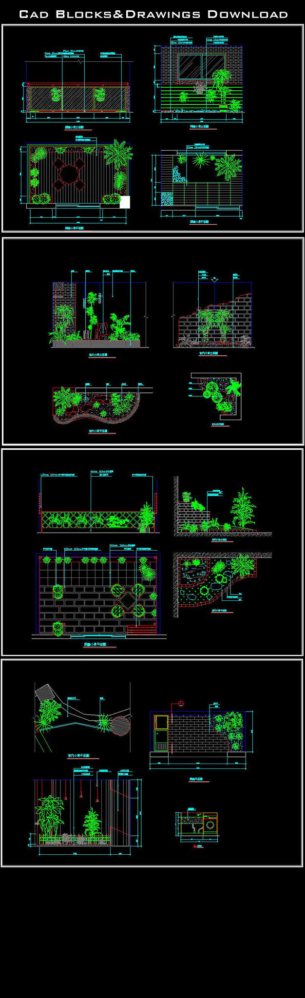 Landscape Design - CAD Design | Free CAD Blocks,Drawings ...
