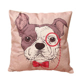 Fashion Pillowcase Cute Cartoon Animal Cotton Linen Home Car Decor Throw Pillow  43*43cm 9 Styles - CAD Design | Download CAD Drawings | AutoCAD Blocks | AutoCAD Symbols | CAD Drawings | Architecture Details│Landscape Details | See more about AutoCAD, Cad Drawing and Architecture Details