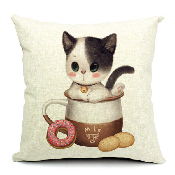 Fashion Adorable Cartoon Style Cat Printed Pillow Bed Sofa Cushion Home Decorative Throw Pillow Fundas Para Almofadas Cojines - CAD Design | Download CAD Drawings | AutoCAD Blocks | AutoCAD Symbols | CAD Drawings | Architecture Details│Landscape Details | See more about AutoCAD, Cad Drawing and Architecture Details