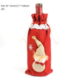 Christmas Xmas Wine Bottle Covers Bag Santa Claus Snowman Bottle Cover Dinner Table Decoration for Home New Year Products - CAD Design | Download CAD Drawings | AutoCAD Blocks | AutoCAD Symbols | CAD Drawings | Architecture Details│Landscape Details | See more about AutoCAD, Cad Drawing and Architecture Details