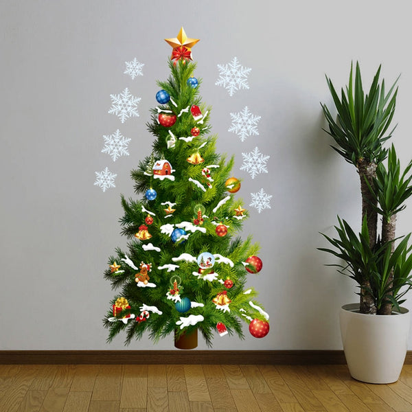 Christmas Tree Wall Stickers Removable DIY Art Decals Christmas Decoration for home Adesivos De Natal New Year Decoration - CAD Design | Download CAD Drawings | AutoCAD Blocks | AutoCAD Symbols | CAD Drawings | Architecture Details│Landscape Details | See more about AutoCAD, Cad Drawing and Architecture Details