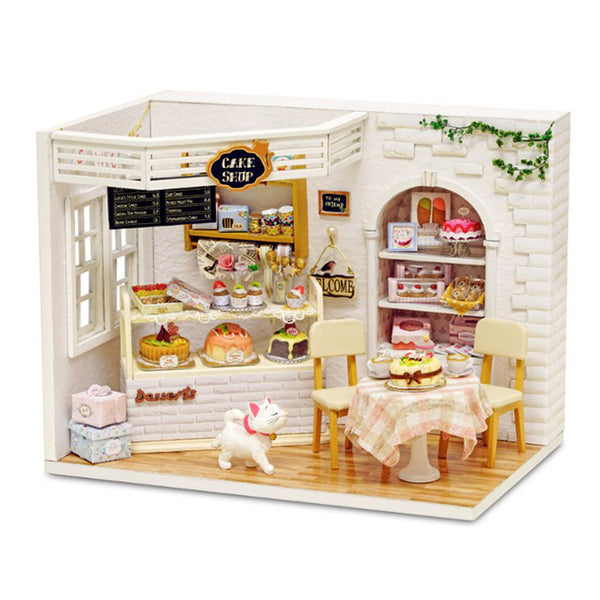Dollhouse Miniature DIY House Kit Handmade Assembly Model Creative Room With Furniture (Cake Diary) - CAD Design | Download CAD Drawings | AutoCAD Blocks | AutoCAD Symbols | CAD Drawings | Architecture Details│Landscape Details | See more about AutoCAD, Cad Drawing and Architecture Details