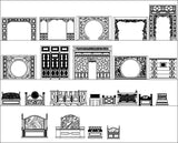 All Chinese Decoration Elements(Best Recommanded!!) - CAD Design | Download CAD Drawings | AutoCAD Blocks | AutoCAD Symbols | CAD Drawings | Architecture Details│Landscape Details | See more about AutoCAD, Cad Drawing and Architecture Details
