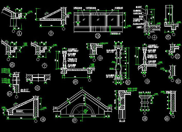 Architecture Details Collection CAD Design Free CAD Blocks
