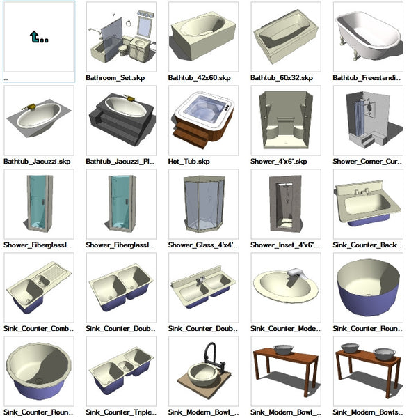 Sketchup Plumbing 3D models download