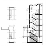 Free Stair Elevation Cad 2