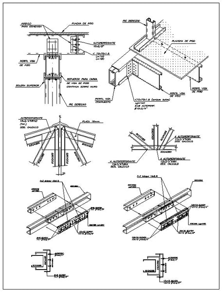 Free Steel Structure Details 1 Cad Design Free Cad