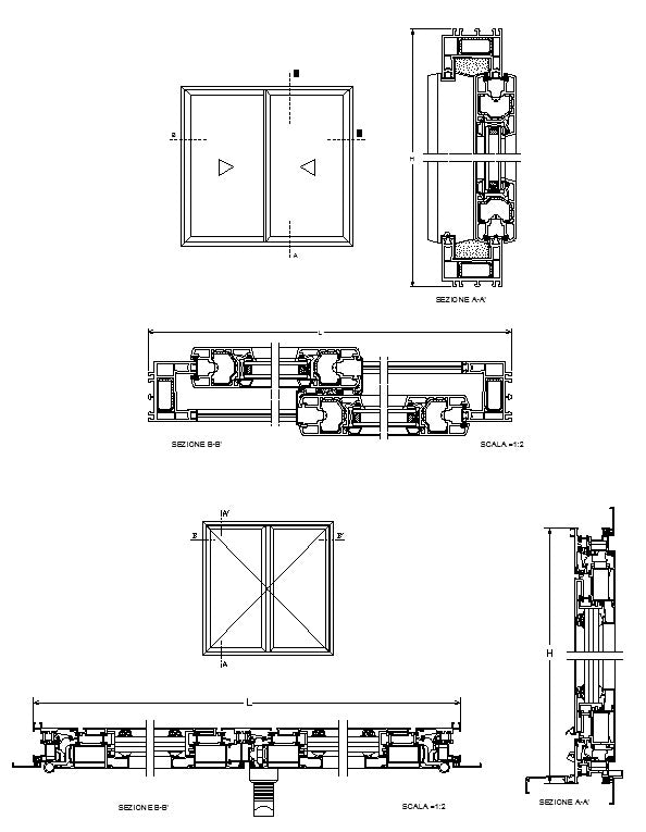 Windows Detail Drawings 2 Cad Design Free Cad Blocks