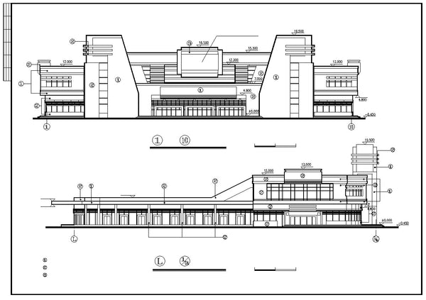 Bus Station Cad Drawings