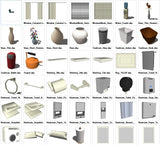 Sketchup Interior Objects 3D models download - CAD Design | Download CAD Drawings | AutoCAD Blocks | AutoCAD Symbols | CAD Drawings | Architecture Details│Landscape Details | See more about AutoCAD, Cad Drawing and Architecture Details