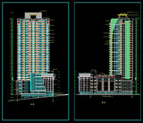 32 Floor Residential drawings - CAD Design | Download CAD Drawings | AutoCAD Blocks | AutoCAD Symbols | CAD Drawings | Architecture Details│Landscape Details | See more about AutoCAD, Cad Drawing and Architecture Details