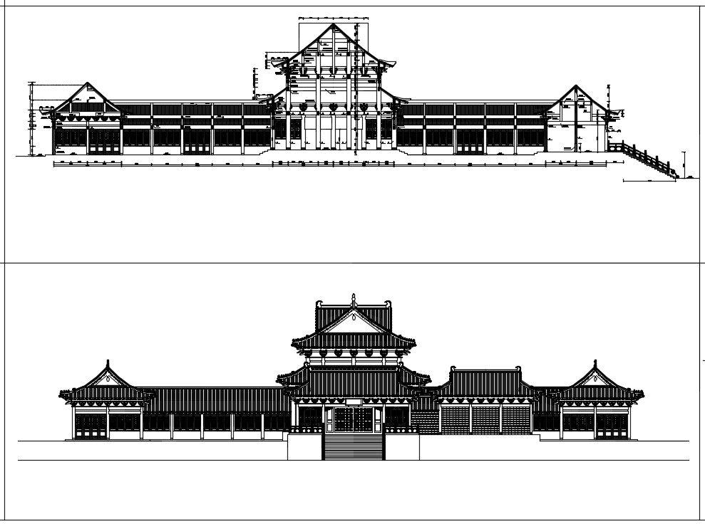 Chinese Architecture CAD Drawings 4