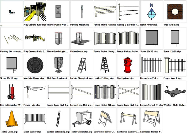 Sketchup Site Detail 3D models download - CAD Design | Download CAD Drawings | AutoCAD Blocks | AutoCAD Symbols | CAD Drawings | Architecture Details│Landscape Details | See more about AutoCAD, Cad Drawing and Architecture Details