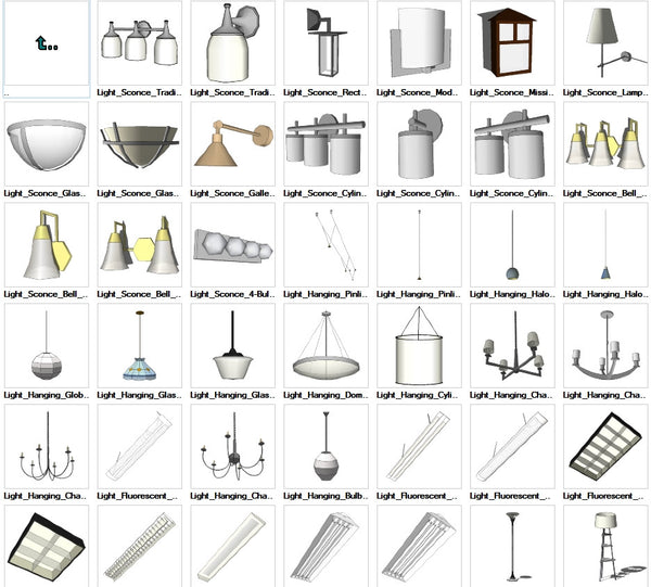 Sketchup Lighting 3D models download